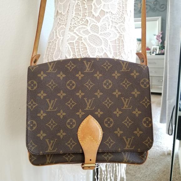 201072c6f139 Louis Vuitton Handbags - Louis Vuitton Cartouchiere Authentic